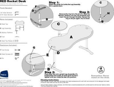 Herman Miller Assembly Instructions