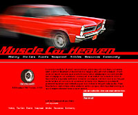 Muscle Car Heaven (design)
