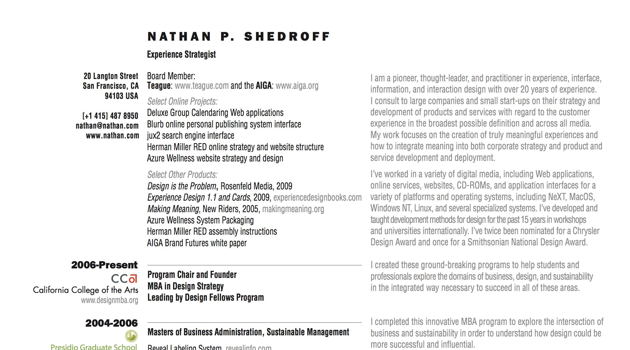 Nathan's Resume