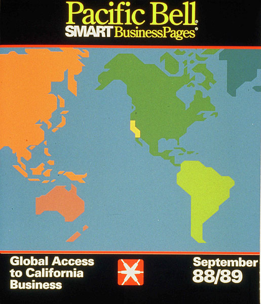 Pacific Bell SMART Business Pages prototype (design)
