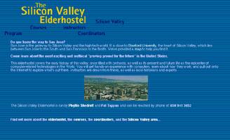 Silicon Valley Elderhostel Website (design)