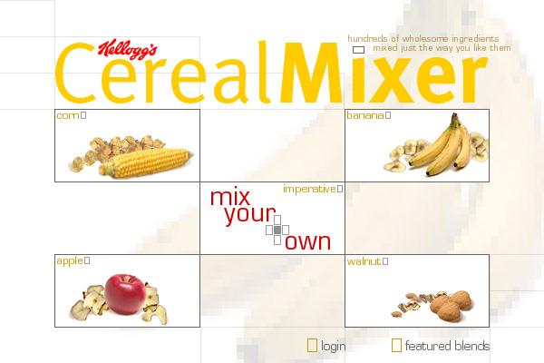 Kellogg's Cereal Mixer